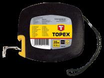 Meter jekleni v PVC kolutu 20 m/12,5 mm  TOPEX