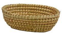 Košara slamnata/pehar oval  27x20x8/9cm Est.