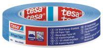 Zaščitni trak UV odporen, moder 50m : 25mm za zaščito površin zunaj do 14 dni