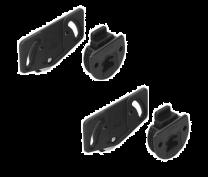 Montažni komplet za SlideLine1 12kg (2 koslesa + 2 drsnika)