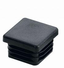 Potisni drsnik 25x25mm, črno