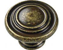 Gumb medeninast izrezan D32mm art. 9208471