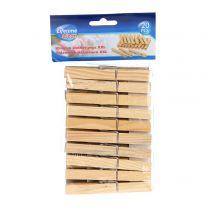 Ščipalke  za perilo lesene set 20/1 9,5cm  XXL Ed.