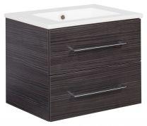 B.PERFEKT Dark Oak KOPALNIŠKI SET umivalnik+ omara pod umivalnikom  84145