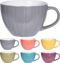 Lonček mug stoneware 460ml   ker. (