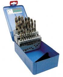 SVEDER  1.0-10.0mm/05 HSS-E COBALT (2-10302 set) v kovinski škatli