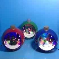 Božična krogla led, 16,5x15x17,Tims