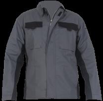 """Delovna jakna BASIC """" L """", temno siva"""