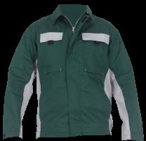 """Delovna jakna BASIC """" L """", zelena"""