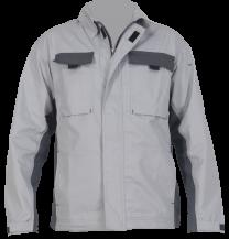 """Delovna jakna BASIC """" L """", svetlo siva"""