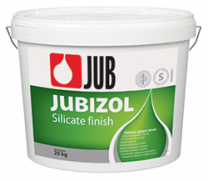 Jubizol Silicate Finish S 2mm beli 25 kg