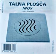 PLOŠČA kopalniška TALNA TEŽKA INOX 15x15, PPK