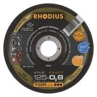 REZALKA 125x0.8x22.23 Fe/Inox  XTK 8, EXACT - RHODIUS 50/karton