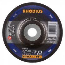 BRUSILKA 125x 7.0(6.0)x22.23 Fe RS 2, PRO - RHODIUS 25/karton