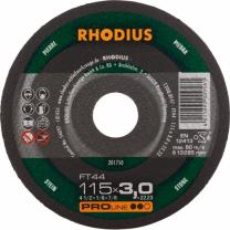 REZALKA 115x3.0x22.23 Kamen FT 44, PRO - RHODIUS 25/karton
