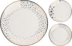 Krožnik desertni  new bone  20cm porcelan nov. Kop.