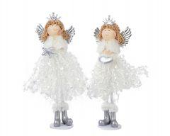 Angel punčka 6x18 cm, DSGlas