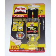 Lepilo Pattex Repair epoxy 2K v brizgi 6ml