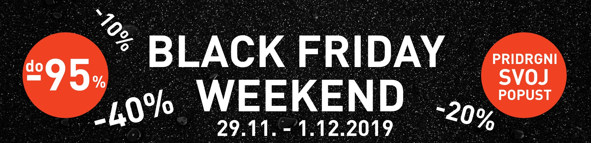Inposova Black Friday Weekend Akcija 2019